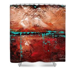 The Indian Bowl Shower Curtain by Frances Marino