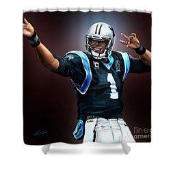 The Inevitable Cam Newton1 Shower Curtain