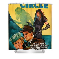The Inner Circle 1946 Shower Curtain by Mountain Dreams