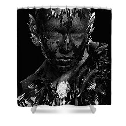 The Inner Demons Coming Out Shower Curtain