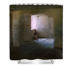 The Inner Place Shower Curtain by Ron Jones