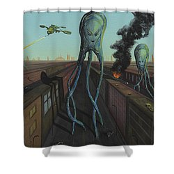 The Intruders Shower Curtain