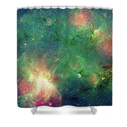 Shower Curtain featuring the photograph The Invisible Dragon by NASA JPL-Caltech
