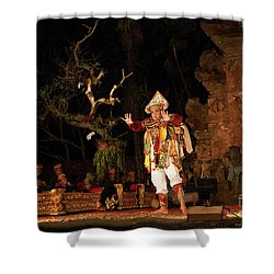 The Island Of God #2 Shower Curtain