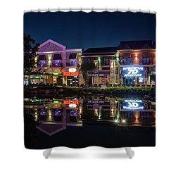 The Island Shops Shower Curtain