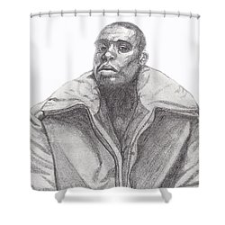 The Jacket Shower Curtain