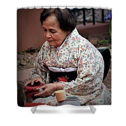 The Japanese Tea Ceremony Shower Curtain