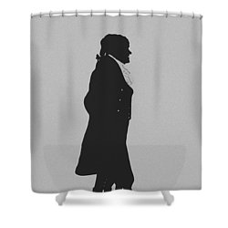The Jefferson Shower Curtain by War Is Hell Store