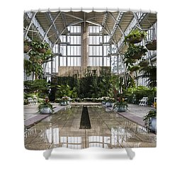 The Jewel Box Shower Curtain by Andrea Silies