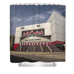 The Joe Wide Shot  Shower Curtain