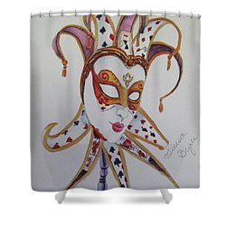 The Joker Shower Curtain