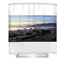 The Jonathan Beach Club Shower Curtain