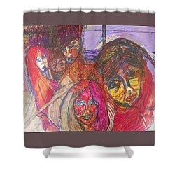The Jones Family Shower Curtain