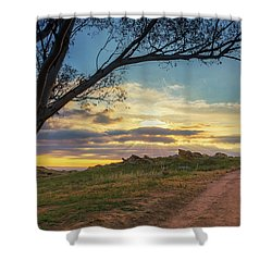 The Journey Home Shower Curtain