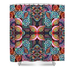 The Joy Of Design Mandala Series Puzzle 7 Arrangement 2 Shower Curtain