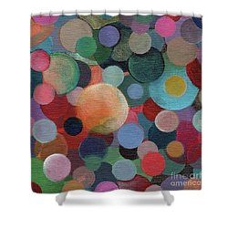 The Joy Of Design X L Shower Curtain by Helena Tiainen