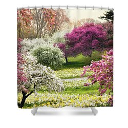 Shower Curtain featuring the photograph The Joy Of Spring by Jessica Jenney