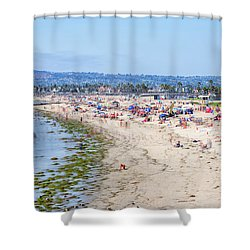 The Joy Of Summer Shower Curtain by Joseph S Giacalone
