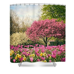 Shower Curtain featuring the photograph The Joy Of Tulips by Jessica Jenney