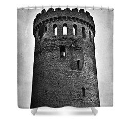 The Keep At Nenagh Castle In Nenagh Ireland Shower Curtain