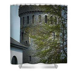 The Keep At Nenagh Castle Ireland Shower Curtain