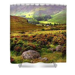 Shower Curtain featuring the photograph The Keeper Of Legends by Jenny Rainbow