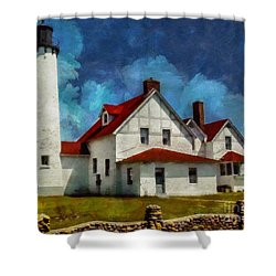 The Keeper's House 2015 Shower Curtain