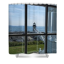 The Keeper's View Shower Curtain