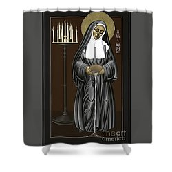 The Kenosis Of St Bernadette Of Lourdes 063 Shower Curtain