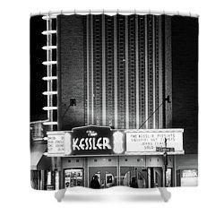 The Kessler V2 091516 Bw Shower Curtain