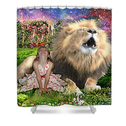The King And I Shower Curtain
