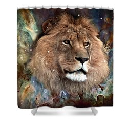 The King Shower Curtain by Bill Stephens