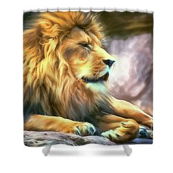 The King Of Cool Shower Curtain