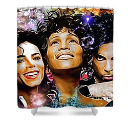 The King, The Queen And The Prince Shower Curtain