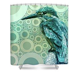The Kingfisher Shower Curtain