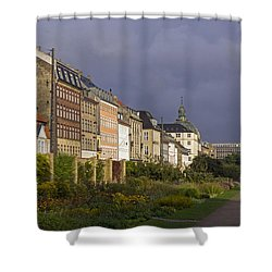 Shower Curtain featuring the photograph The Kings Garden by Inge Riis McDonald