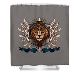 The King's Heraldry II Shower Curtain