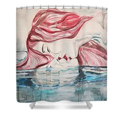 The Kiss Of Life Shower Curtain