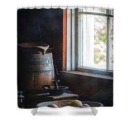 The Kitchen Window Shower Curtain by Mitch Shindelbower
