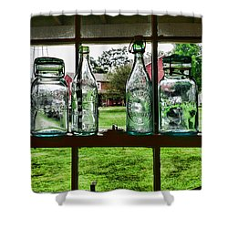 The Kitchen Window Shower Curtain by Paul Ward