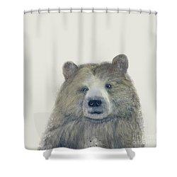 The Kodiak Bear Shower Curtain