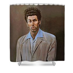 The Kramer Portrait  Shower Curtain