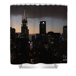 The Lady Chrysler Shower Curtain