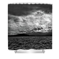 The Lake Shower Curtain by John K Sampson