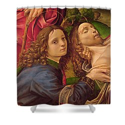 The Lamentation Of Christ Shower Curtain by Capponi