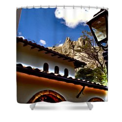 The Lamp Post Shower Curtain by Francisco Colon