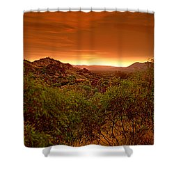 Shower Curtain featuring the photograph The Land Before Time by Paul Svensen