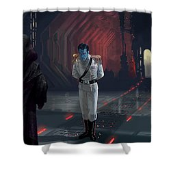 The Last Grand Admiral Shower Curtain