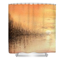 The Last Of Autumn Shower Curtain