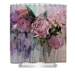 The Last Of Spring Painting Shower Curtain